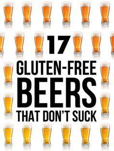 17 Gluten-Free Beers That Don't Suck