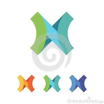 Letter N + X Logo  Features : AI 10 formats! 100% Editable & Re-sizable vectors! Unlimited Color Variations editing in AI