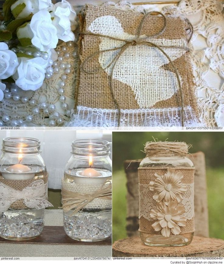 69 Best Images About Rustic/Burlap Wedding Ideas On