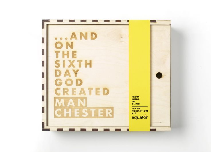 …AND ON THE SIXTH DAY GOD CREATED MANCHESTER grooming box
