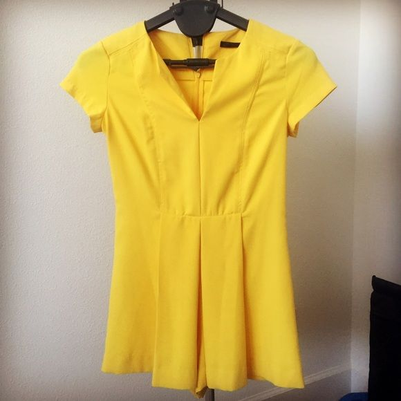 Zara yellow jumpsuit brand new jumper from zara. Looks like dress in front. I like the color most. Zara Other