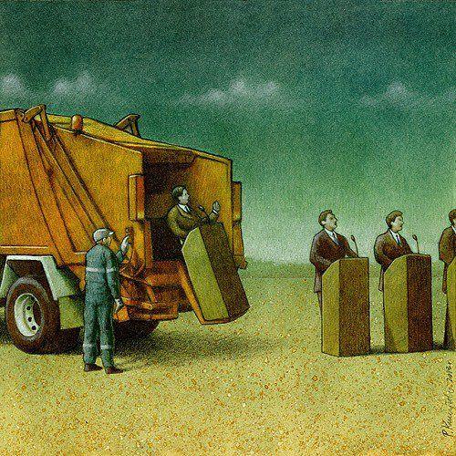 Pawel-Kuczynski-15 Limpiando el entorno. La basura a la basura
