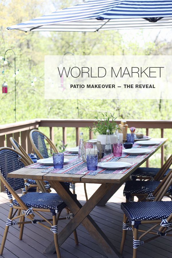 Superior World Market Boho Patio Makeover Challenge