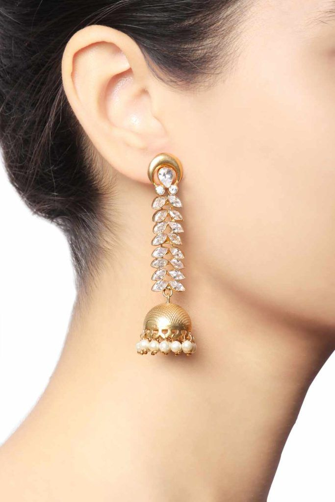 c02a2766e 5 Exquisite Jhumka Designs for the Modern Desi Girl | Jhumka Earring Styles