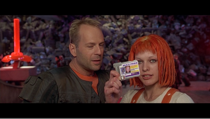 Fifth element movie script