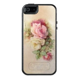 Vintage Handpainted Style Roses OtterBox iPhone 5/5s/SE Case