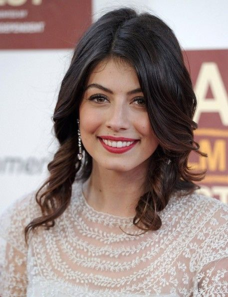 Alessandra Mastronardi Medium Curls
