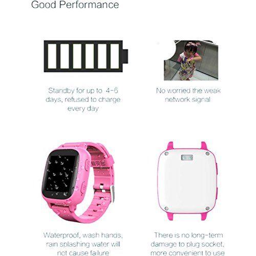 "1.4"" Touch Kids GPS Tracker I9 Smart Watch SOS Call Anti-lost Alarm Pedometer Wristwatch Bracelet Smartwatch for Children Boys Girls (Cute Pink) 68.90  #1.4""TouchKidsGPSTrackerI9SmartWatchSOSCallAnti-lostAlarmPedometerWristwatchBraceletSmartwatchforChildrenBoysGirls(CutePink) #Extrawristbandincluded #FERIN #FreeappforIOSandAndroid,waterproof #GPS+LBSTracking #I9 #SOSemergencycall #Twowaycall *..."
