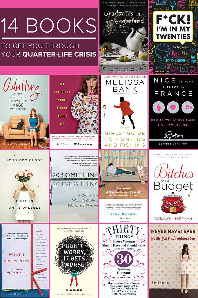 A Reading Guide For Surviving Your Quarter-Life Crisis