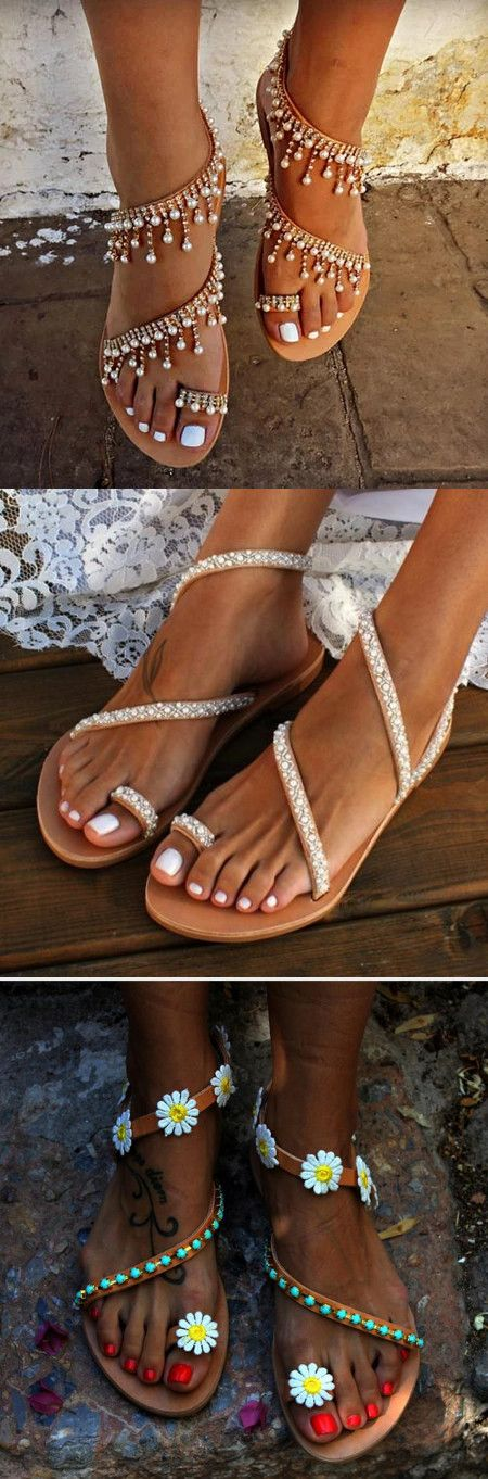 Beach Sandals & Slippers On Sale >> Down To $15.99 🛒Shop Now !