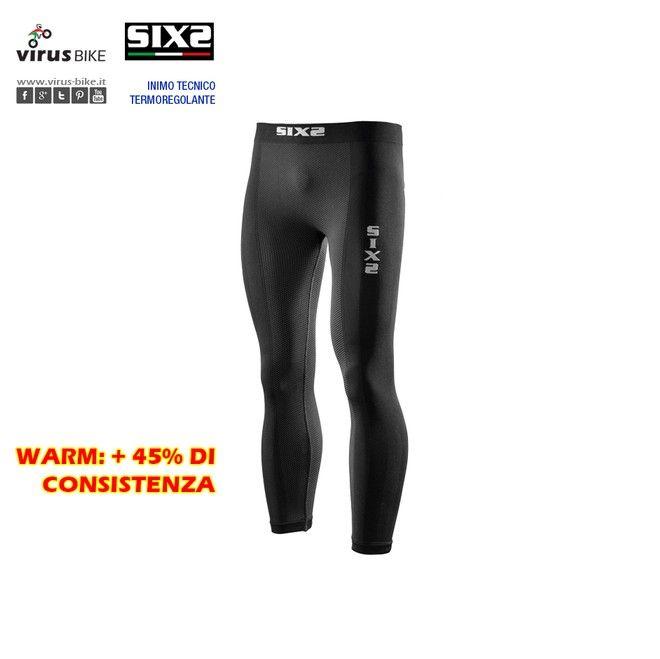 Leggings Thermo Carbon Underwear SIXS PNX Warm - Leggings Thermo Carbon Underwear, studiato per le basse temperature (sotto i 5°): permette a chi lo indossa di non disperdere preziose energie per scaldare il corpo.