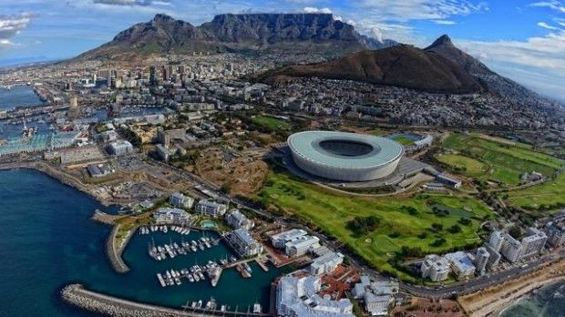 Cape Town, South Africa - Wonderful sunsets over the Atlantic Ocean assist in making the Southern Sun Waterfront Cape Town a preferred business and holiday destination. #BudgetTravel