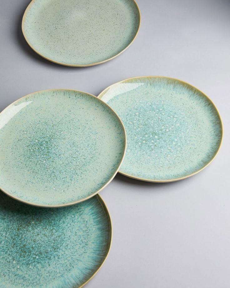 Areia Teller gross mint • Motel a Mio • SHOP ONLINE – bowls & spoons