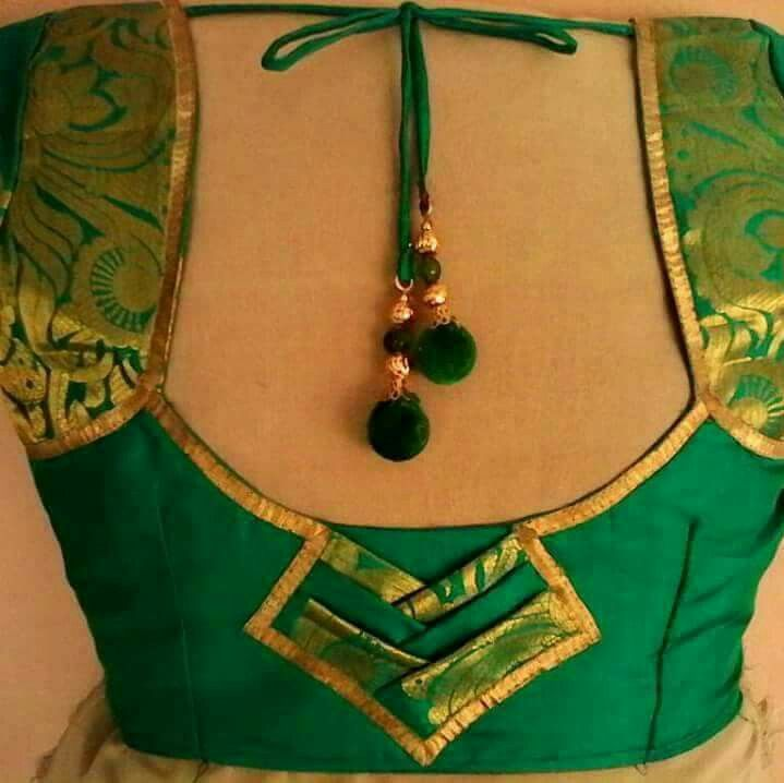 Best blouse neck designs ideas on pinterest
