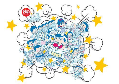 「赤塚不二夫のビチュツ展」渋谷で開催 - 村上隆、荒木経惟らによるパロディー&オマージュ作品を展示の写真2