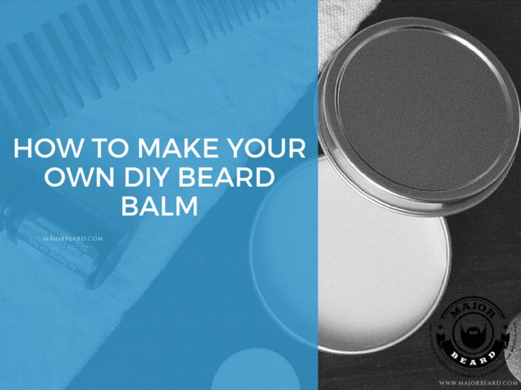 create your own bearded scent with this diy beard balm. Black Bedroom Furniture Sets. Home Design Ideas
