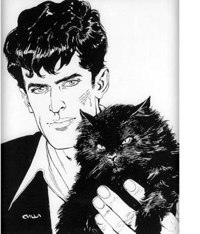 Dylan Dog – Il Gatto nero (Tiziano Sclavi per Sergio Bonelli)