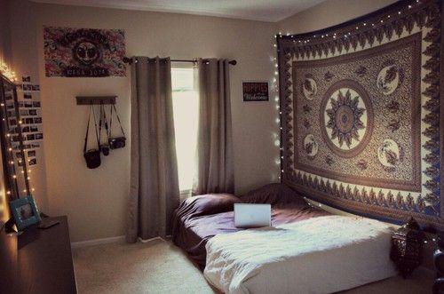 tumblr bedrooms≫ Pinterest: GenaTheBeena ≫                                                                                                                                                     Más