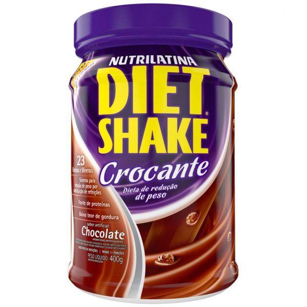 Diet Shake Crocante é um substituto de refeições que auxilia no emagrecimento e controle de peso baseado na redução da ingestão calórica diária. Cada porção preparada vale por uma refeição balanceada. Contém os principais nutrientes o...