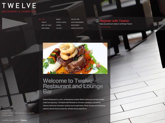 Best Restaurant Hotel Website Design Images On Pinterest