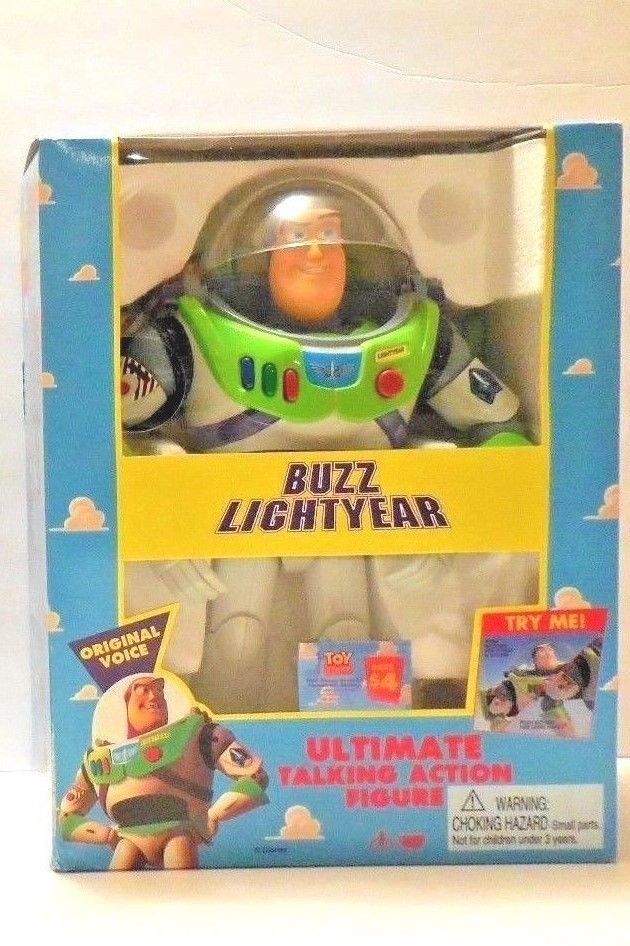 Buzz Lightyear Disney's Toy Story Ultimate Talking Action Figure NEW IN BOX