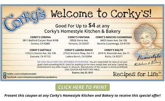 Corky S Kitchen