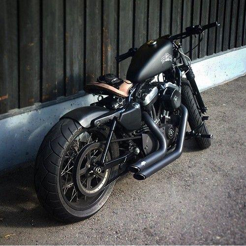 Sportster   Bobber Inspiration - Bobbers and Custom Motorcycles November 2014