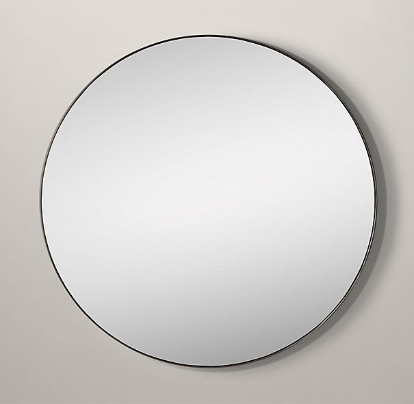 72 best images about mirrors worth hanging on pinterest for Restoration hardware round mirror