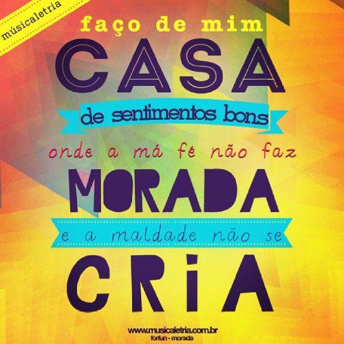 morada - forfun / www.musicaletria.com.br - https://facebook.com/musicaletriawww.musicaletria.com.br - https://facebook.com/musicaletria / #forfun #musicaletria #typography #tipografia #morada