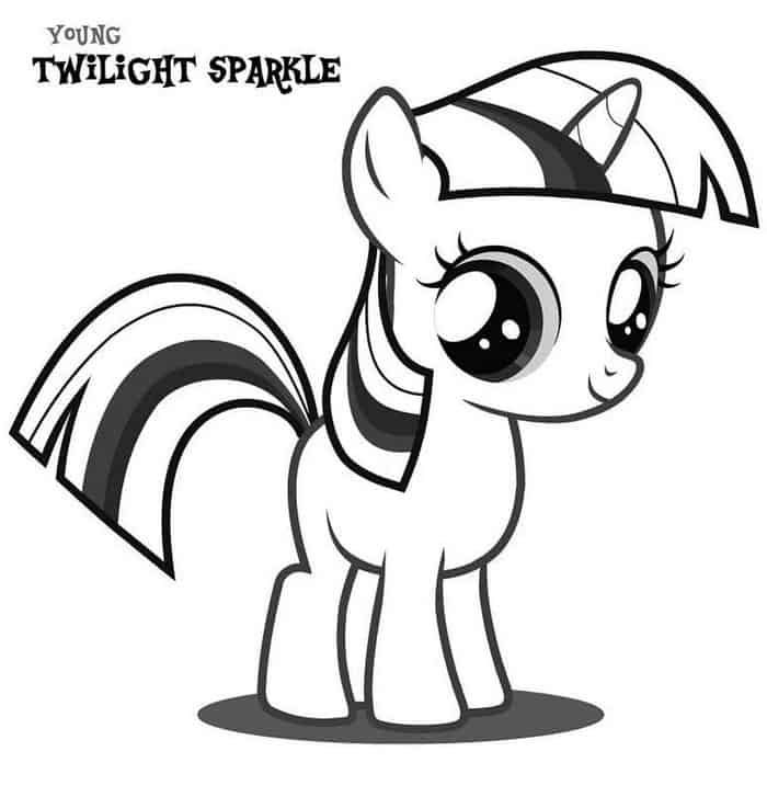 My Little Pony Coloring Pages Twilight Sparkle My Little Pony Coloring Cute Coloring Pages My Little Pony Baby