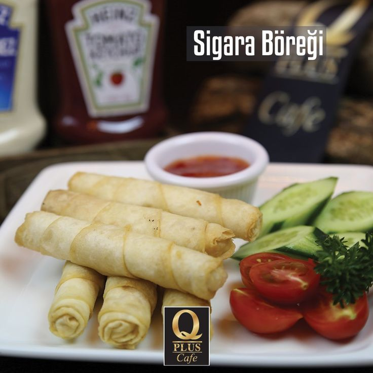 Q Plus'da bir lezzet klasiği... Sıcak sıcak sigara böreğiniz hazır, sizi bekliyoruz. :) #Qpluscafe #SigaraBöreği