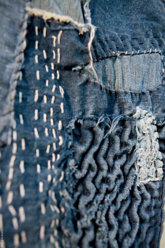 248 best images about Stitched boro sashiko on Pinterest ...