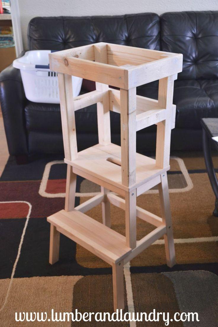 what i learned ikea learning tower hack montessori baby pinterest lernturm rund ums kind. Black Bedroom Furniture Sets. Home Design Ideas