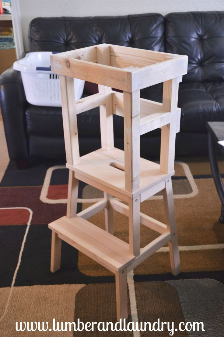 What I Learned: Ikea Learning Tower Hack--great tips on mistakes to avoid!!