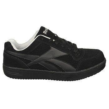 Reebok Work Men's Soyay Medium/Wide Steel Toe Sneakers (Black)