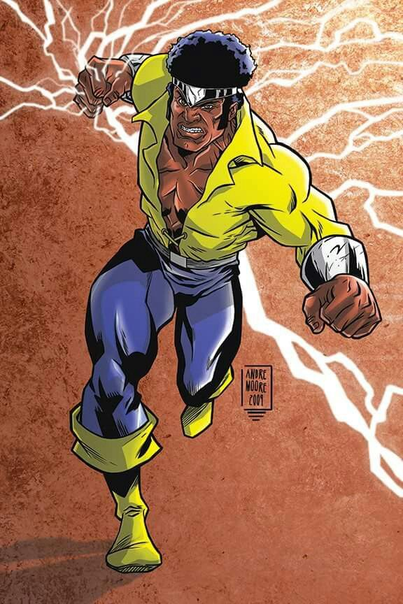 Andre Moore Luke Cage