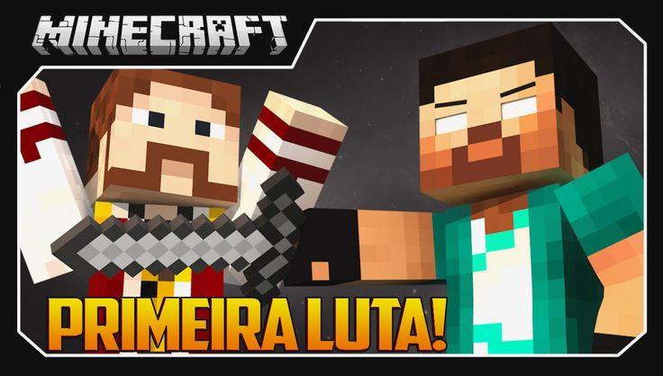 Minecraft - CONFRONTO FINAL #2 PRIMEIRA LUTA!!