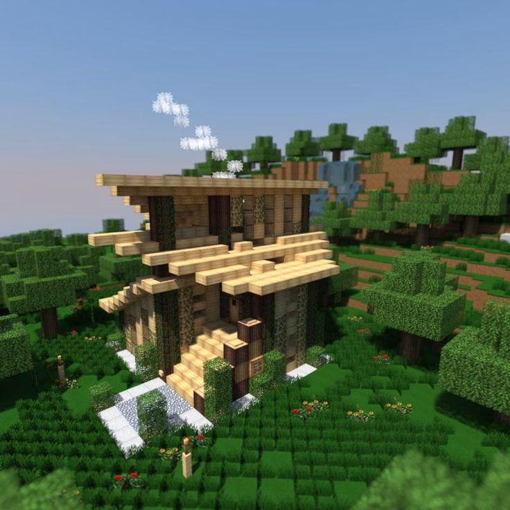1000+ Ideas About Minecraft Modern House Blueprints On Pinterest