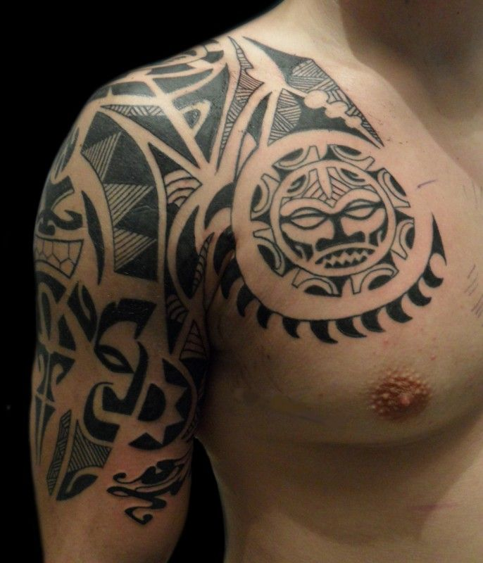 20 Best Fire Eagle Wings Polinezian Tattoo Images On