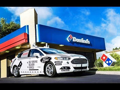 Driverless Cars Taking Pizza Delivery Jobs - YouTube