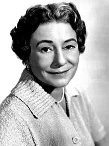 Thelma RITTER (1902-1969) * AFI Top Actress nominee > Years active: 1947–68 > Born Feb 14, 1902, New York > Died Feb 5, 1969 (aged 66) New York, heart attack > Occupation: Actress > Spouse: Joseph Moran (1927-69, her death) > Children: 2. Photo: 1955