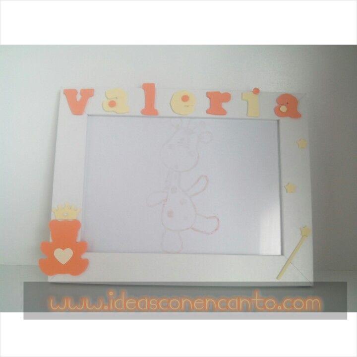 Marco decorado. Valeria