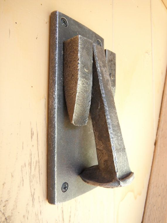 Rail Road Spike Door Knocker