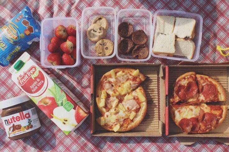 ♡ Picnic snacks