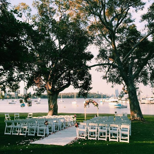 Yesterdays Sweet Ceremony At Matilda Bay Restaurant So Nice To Be Back Into Wedding Season Bring On This Weekend