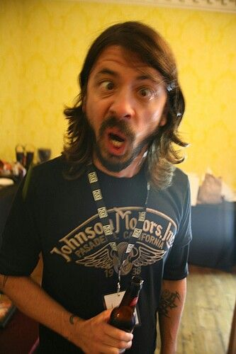 I freakin' love Dave Grohl