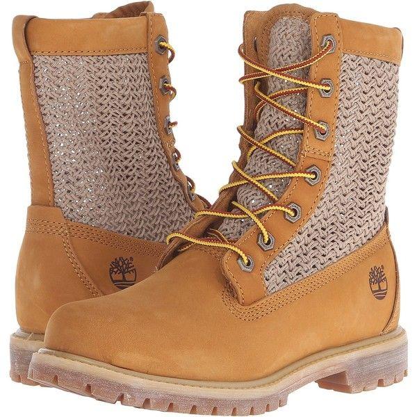 Timberland Timberland Authentics Open Weave 6 Boot (Wheat Nubuck with...  ($85