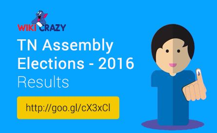 Trends and Results of General Elections to the State Legislative Assemblies of Tamil Nadu 2016