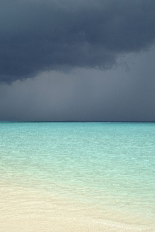 All sizes | Dark clouds II - Maldives | Flickr - Photo Sharing!