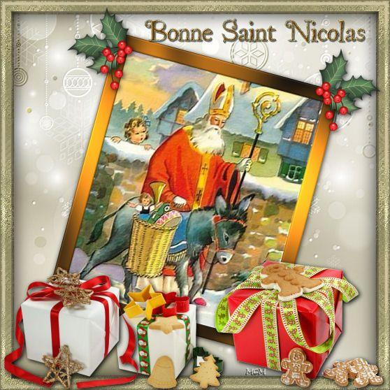 Favori Bonne St Nicolas | Fête de Saint-Nicolas : cartes  NN79